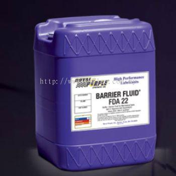 Royal purple Barrier Fluid FDA