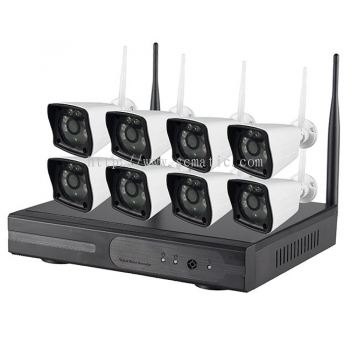 8CH Wireless IP Kit