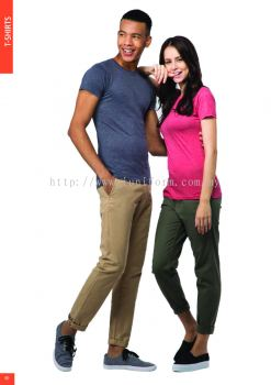 FASHION SLIM FIT MEN'S / LADIES' BLEND TEE