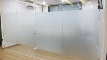 Frosted FIlm With Design