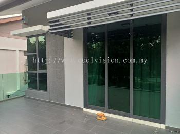 Window Film : 2Ply UV-400 Lite Green