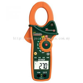 Extech EX810 1000A AC Clamp Meter with IR Thermometer