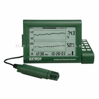 Extech RH520A  Humidity+Temperature Chart Recorder with Detachable Probe