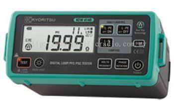 Kyoritsu 4140 Digital Earth Loop Meter