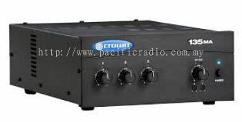 Crown 135MA Three Input, 35W Mixer-Amplifier