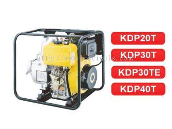 DIESEL WATER PUMP KDP20T KDP30T KDP30TE KDP40T