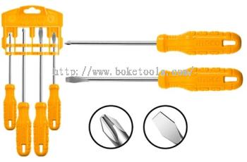 INGCO HKSD0458 4 Pcs Screwdriver Set