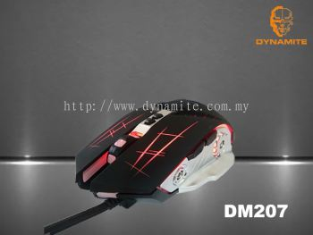 DYNAMITE BACKLIT GAMING MOUSE DM207