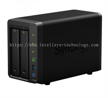 Synology DS716+ (2 Bays) NAS