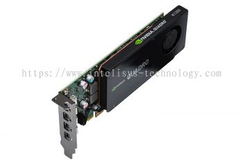 Leadtek NVIDIA Quadro K1200 (4GB D5 128bit) - Low Profile