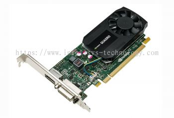 Leadtek NVIDIA Quadro K620 (2GB D3 128bit With ATX Bracket) - Low Profile
