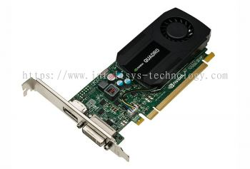 Leadtek NVIDIA Quadro K420 (2GB D3 128bit With ATX Bracket) - Low Profile