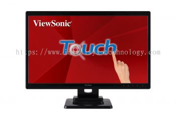 "ViewSonic TD2220-2 21.5"" Full HD 2 Points Touch LED Monitor"