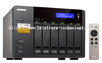 QNAP TS-653A-4G 6-Bay Tower (Business-Middle End)