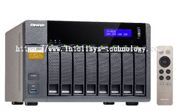 QNAP TS-853A-4G 8-Bay Tower (Business-Middle End)