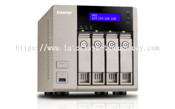 QNAP TVS-463-4G 4-Bay Tower (Business-Middle End)