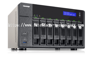 QNAP TVS-871-i3-4G 8-Bay Tower (Business-High End)
