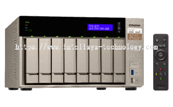 QNAP TVS-873-8G 8-Bay Tower (Business-High End)
