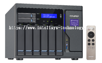 QNAP TVS-882-i3-8G 8-Bay Tower (Business-High End)