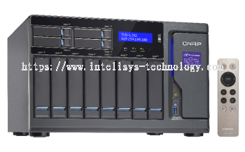 QNAP TVS-1282-i3-8G 12-Bay Tower (Business-High End)