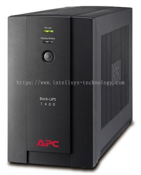 BX1400U-MS (APC Back-UPS 1400VA, 230V, AVR, Universal and IEC Sockets)