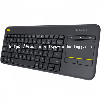 Logitech K400 Plus BLK KEYBOARD WL Touch