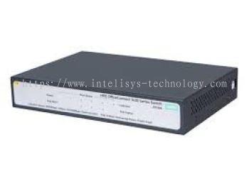 HPE 1420 5G PoE+ (32W) Switch (Ports 1 thru 4 are POE+)