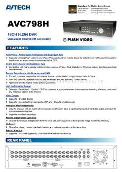 Analogue CCTV System