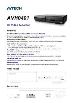 AV TECH - AVH0401