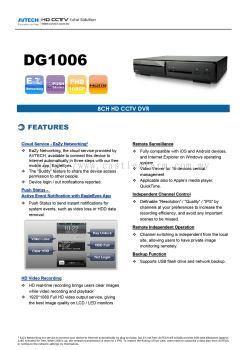 AV TECH - DG1006