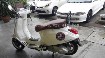 Motorcycle Printing Sticker