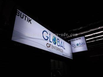 Global Enterprise Light Box Signboard