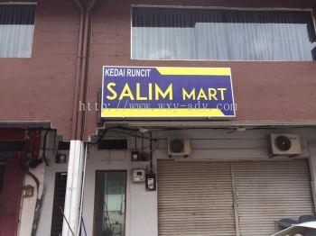 Salim Mart Light Box Signboard