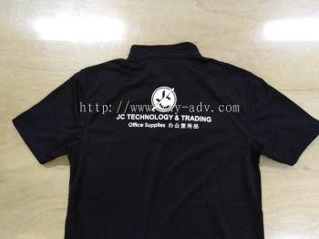 JC TECHNOLOGY & TRADING Silkscreen Uniform