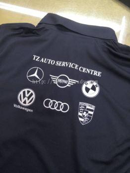 TZ AUTO SERVICE CENTRE Silkscreen Uniform