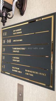 D ELEGANCE GRAND HOTEL Aluminium Box Up Signboard