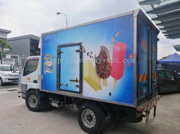 HA PIN TRADING SDN BHD Lorry sticker
