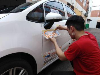 Unifi Car Sticker