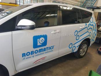 Robomatics Johor Sdn Bhd Car Sticker