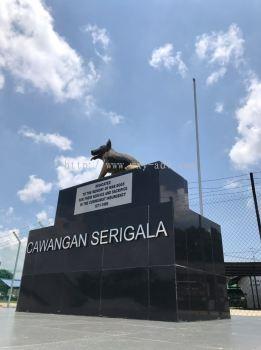 CAWANGAN SERIGALA STIANLESS STEEL BOX UP