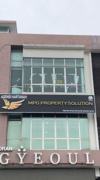 MPG PROPERTY SOLUTION Aluminium Box Up Signboard