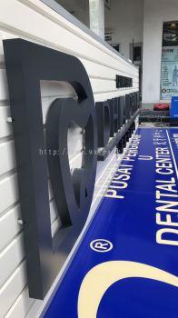 DHIA DENTAL Aluminium Box Up Signboard
