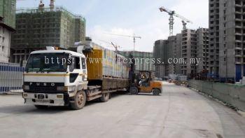 Breakbulk and container transportation through out East Malaysia and Sabah Sarawak