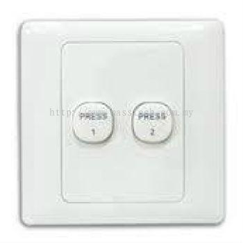 Autogate Push Button (2 Buttons)