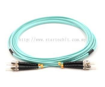 ST-ST OM3 50/125UM MM DUPLEX 3/5/10/15/20/30M