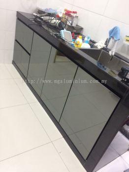 Aluminium kitchen cabinet (2019)