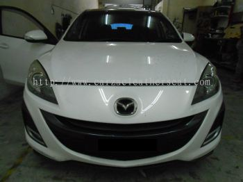MAZDA 3 REPLACE STEERING WHEEL LEATHER