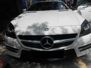 Mercedes Benz SLK 200 REPLACE SEAT BELT