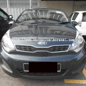 KIA RIO STEERING REPLACE SYNTHETIC LEATHER
