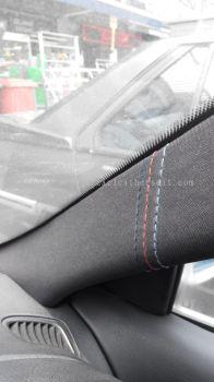Car Door Pillar Mounting